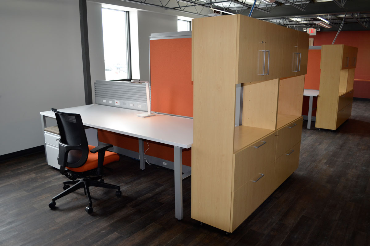 Cabinet Workstations 1